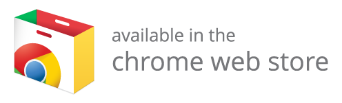 Availalble in the Chrome Web Store
